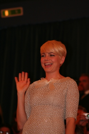 Michelle Williams, Meek's Cut-Off, Biennale cinema 2010, foto Francesca Galluccio