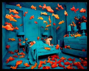 Sandy Skoglund,Revenge of the Goldfish, © 1981